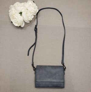 Charming Charlie Small Crossbody Bag Blue